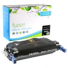 Recyclée HP CB400A (642A), Toner Noir, Fuzion (HD)
