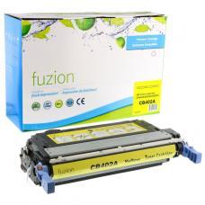 Recyclée HP CB402A (642A), Toner Jaune, Fuzion (HD)