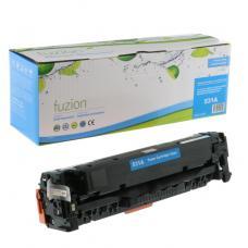 Recyclée HP CC531A Toner Cyan Fuzion (HD)