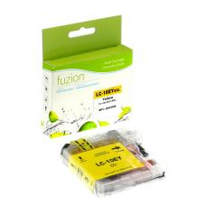 Compatible Brother LC10EYL XXL Yellow Fuzion (HD)