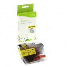Compatible Brother LC-3017-19, XXL Yellow Fuzion (HD)