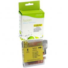 Compatible Brother LC61 Jaune Fuzion (HD)