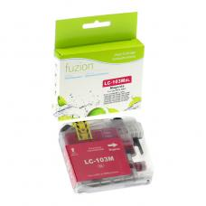 Compatible Brother LC101 LC103 XL Magenta Fuzion (HD)